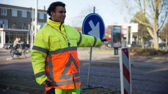 vacature bijbaan verkeersregelaar